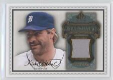 2009 SP Legendary Cuts Memorabilia Olive Green LM-GK2 Kirk Gibson Detroit Tigers