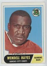 1968 Topps #40 Wendell Hayes Kansas City Chiefs Football Card