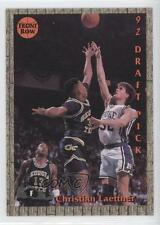 1992 Front Row Promo N/A.4 Christian Laettner (Action With Ball) Basketball Card