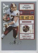 2010 Playoff Contenders Ticket #098 Chris Cooley Washington Redskins Card
