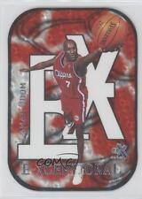 1999-00 Skybox E-X E-Xceptional 15XC Lamar Odom Los Angeles Clippers Rookie Card