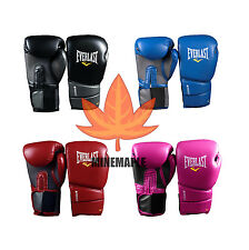 Everlast New Style Boxing Training Gloves Blue Red Black Pink 10 12 14 16 oz