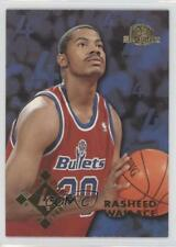 1995 Skybox Premium Prize NBA Lottery Picks 4 Rasheed Wallace Washington Bullets