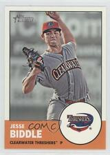 2012 Topps Heritage Minor League Edition #127 Jesse Biddle Clearwater Threshers