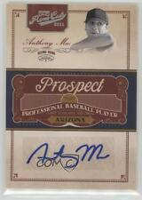 2011 Playoff Prime Cuts Prospect Signatures Century Silver #AM Anthony Meo Auto
