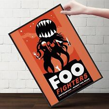 FOO FIGHTERS - 2008 Concert Poster | Cubical ART | Gifts | FREE Shipping