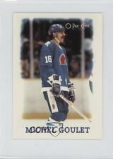 1988-89 O-Pee-Chee NHL Stars Mini Etoiles 10 Michel Goulet Quebec Nordiques Card