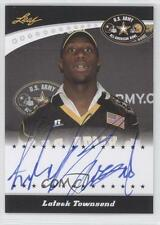 2011 Leaf US Army All-American Bowl #TA-LT2 Lateek Townsend Black Knights Auto