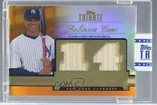2012 Topps Tribute Debut Digits Relic Orange Encased #DD-RC Robinson Cano Card