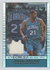 2002-03 Topps Jersey Edition #jeJDM Jamaal Magloire New Orleans Hornets Card