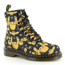 Doc Martens CASTEL Adventure Time JAKE Cartoon Network 2 Laces Boots Unisex NWOT