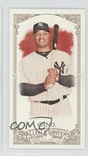 2012 Topps Allen & Ginter's Minis Ginter Back 153 Robinson Cano New York Yankees