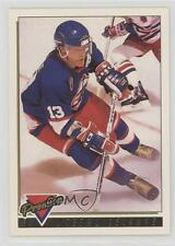 1993-94 Topps Premier Gold #483 Teemu Selanne Winnipeg Jets Hockey Card