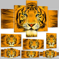 New Canvas Picture Wall Tattoo Art Print Animals Fantasy Tiger Portrait Wild Cat