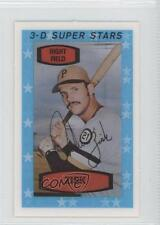 1975 Kellogg's 3-D Super Stars #25 Richie Zisk Pittsburgh Pirates Baseball Card
