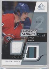 2008 SP Game Used Edition Authentic Fabrics Dual Jersey Patch #AF-SS Steve Shutt