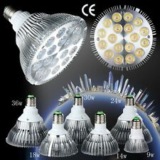 Double E27 9W 14W 18W 24W 30W 36W Dimmable PAR20 PAR30 PAR38 LED Light Bulb Lamp