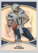 2010 Topps Finest Refractor #112 Philip Rivers San Diego Chargers Football Card