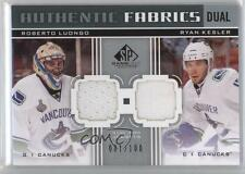 2011-12 SP Game Used Edition AF2-LK Roberto Luongo Ryan Kesler Vancouver Canucks