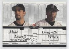 2003 Fleer Mystique Awe Pairs #9AP Mike Lowell Dontrelle Willis Miami Marlins