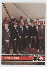 1995 #4 Frontier Field Ground Breaking November 16 1994 Rochester Red Wings Card