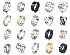 Stainless steel rings for women fashion jewelry wholesale