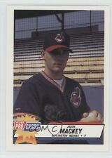 1993 Fleer ProCards Minor League #3294 Jason Mackey Burlington Indians Card