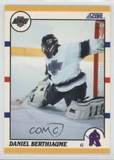 1990 Score Rookie & Traded #73T Daniel Berthiaume Los Angeles Kings Hockey Card