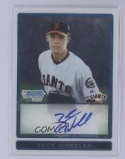 2009 Bowman Draft Picks & Prospects Chrome #BDPP86 Zack Wheeler Auto Rookie Card