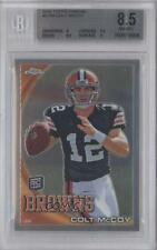 2010 Topps Chrome #C70 Colt McCoy BGS 8.5 New York Giants Cleveland Browns RC