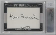 2012 Leaf History of Baseball Cut Signature Edition #KEFO Ken Forsch Auto Card