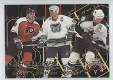 1996-97 Fleer NHL Picks Dream Lines #7 Brendan Shanahan Mike Modano John LeClair