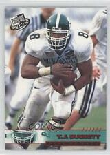 2002 Press Pass Red Torquers #T11 TJ Duckett Michigan State Spartans T.J. Card