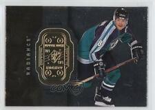 1998 SPx Finite Radiance #1 Teemu Selanne Anaheim Ducks (Mighty of Anaheim) Card