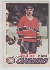 1977-78 O-Pee-Chee #241 Rejean Houle Montreal Canadiens Hockey Card