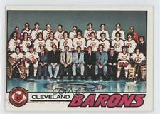 1977-78 Topps #75 Cleveland Barons Team Hockey Card