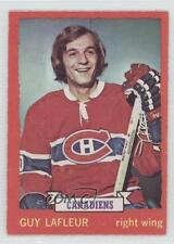 1973-74 O-Pee-Chee #72 Guy Lafleur Montreal Canadiens Hockey Card