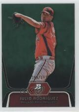 2012 Bowman Platinum Prospects Green Refractor BPP77 Julio Rodriguez Rookie Card