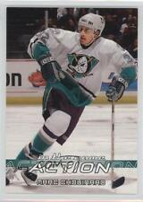 2003 In the Game Action 54 Marc Chouinard Anaheim Ducks (Mighty of Anaheim) Card
