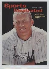 1999 Fleer Sports Illustrated Greats of the Game Covers #9C Mickey Mantle Card