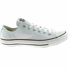 MENS LADIES CONVERSE ALL STAR WHITE OX CHUCK TAYLOR UNISEX CANVAS TRAINERS M7652