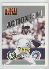 1993 Triple Play Action Baseball Game #28 Juan Guzman Toronto Blue Jays Card