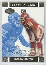 2007 Topps Co-Signers Blue Changing Faces Gold 73 Kolby Smith Kansas City Chiefs