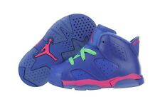 Nike Jordan 6 Retro (BT) 384667-439 Game Royal Shoes Medium Infant / Toddler