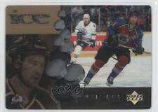 1998-99 Upper Deck McDonald's Ice #MCD7 Peter Forsberg Colorado Avalanche Card