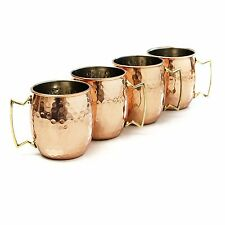 New-Pure Copper Mug Handmade Hammered Moscow Mule Mug 18 oz