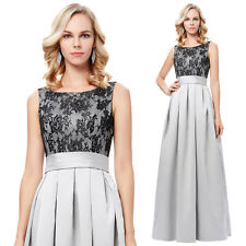 Womans Elegant  Formal Party Prom Lace Maxi Party Dress Cocktail Evening Dress
