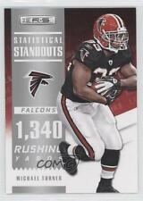 2012 Panini Rookies & Stars Statistical Standouts 8 Michael Turner Football Card