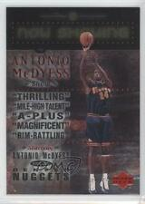 1999 Upper Deck Now Showing #NS7 Antonio McDyess Denver Nuggets Basketball Card