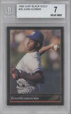 1992 Leaf Gold #35 Juan Guzman BGS 7 Toronto Blue Jays Rookie Baseball Card